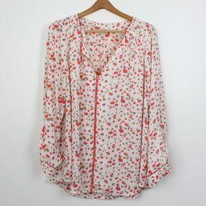 NWOT Modcloth Floral Blouse